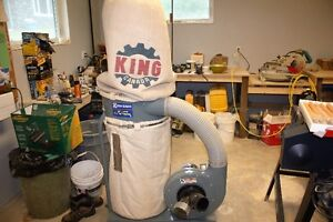 King Canada 3105C dust collector