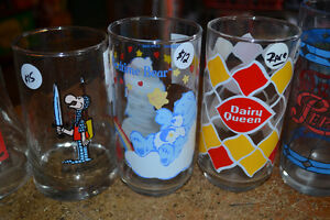 Several Collector Glasses Vintage Movie Cartoon Bar Beer Glass Windsor Region Ontario image 2