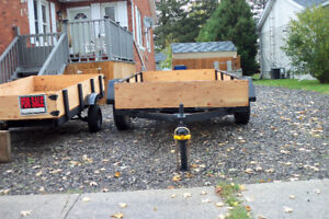 2 TRAILERS (BOTH REFINISHED)