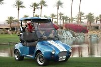 Shelby Cobra Golf Cart