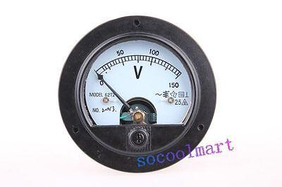 High Quality Round Analog Volt Panel Meter Ac 150v