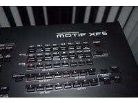 Yamaha motif XF6 music workstation expanded