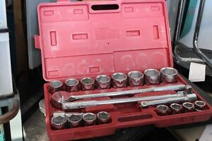 3/4 inch drive socket set barely used