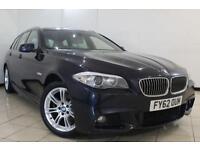 2013 62 BMW 5 SERIES 2.0 520D M SPORT TOURING 5DR 181 BHP DIESEL