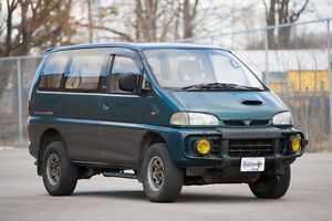 Mitsubishi Delica Exceed Postal Vehicle Right Hand Drive RHD
