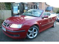 2005 Saab 2.0t 175 Vector Red Convertible Service History