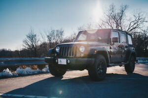 JEEP Wrangler Willys Unlimited 2017 - Finance Takeover