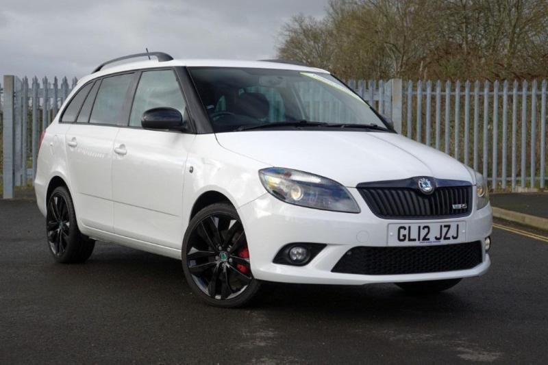 skoda fabia vrs 180 dsg estate petrol automatic 2012 12 in exeter devon gumtree. Black Bedroom Furniture Sets. Home Design Ideas