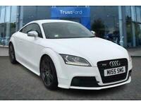 2012 Audi TT 2.0T FSI Quattro TTS Black Edition 2dr S Tronic-Power Assisted Stee