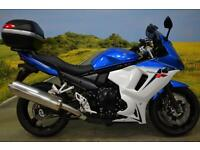 Suzuki GSX 650 2014** One Owner, Crash Bungs, Top Box