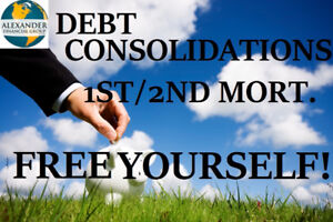 1st & 2nd MORTGAGES, REFINANCING, RENEWAL, DEBT CONSOLIDATIONS