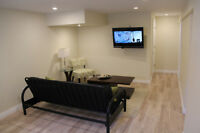 Furnished Renovated Short/Long Term Rental utilities included