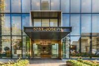 Rental 1 Bed+ Den+ Balcony Bay St-57 St.Joseph St.near U of Tor.