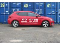 SEAT LEON 2.0TDI FR TECHNOLOGY MANUAL, FINISHED IN RED