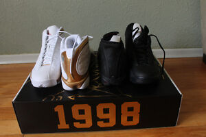 Brand New Air Jordan's 13 & 14 DMP Pack Deadstock Size 11