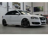 Audi S3 Quattro, 2010 60 Reg, 92k, Ibis White, Revo Stage 1, Tastefully Modified