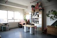 Loft / atelier d'artiste meublé à louer du 05 Janvier au 30 Juin