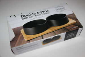 VETDIET-CHIEN+CHATS-SUPPORT BAMBOU+BOLS/FOOD BOWLS (NEW) (C035)