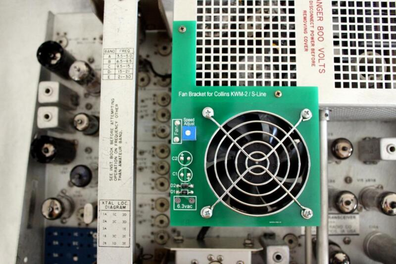 Cooling Fan for Collins KWM-2 and S-line Transmitters