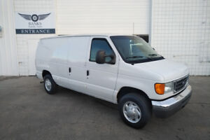 2007 Ford E-150 ECONOLINE CARGO VAN ONLY 123,000KMS!