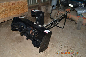 "44"" Craftsman Snowblower attachment"