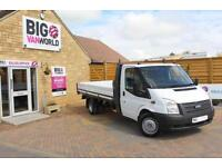 2013 FORD TRANSIT 350 TDCI 125 LWB 'ONE STOP' ALLOY DROPSIDE DRW DROPSIDE DIESEL