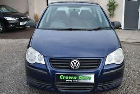 Volkswagen Polo 1.2 ( 55PS ) 2006MY E 5 DOOR BLUE+STUNNING