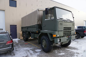 1988 Bedford TM 4x4 8 Ton Military Truck