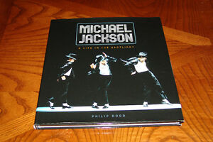 Michael Jackson Book  A Life in the Spotlight Hard Cover