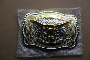 Cowboy belt buckle Kitchener / Waterloo Kitchener Area image 1
