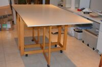 Foldable Home Hobby/Sewing Table