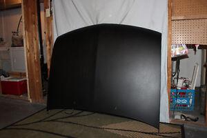 Mint condition matte black Chevy S10 hood.
