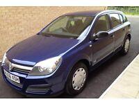 2006(56) Vauxhall Astra 1.4 petrol manual 5 doors 52K long mot