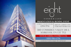 8 Cumberland Condos - Presentation & Signing Event - Aug 6th