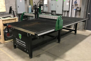 Earn Extra money fabricating steel and wood signs on CNC table