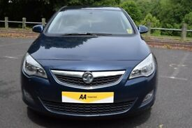 Vauxhall Astra 1.7CDTI 16V () ECOFLEX EXCITE 110PS - 6 MONTH WARRANTY (blue) 2011