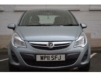 2011 Vauxhall Corsa Exclusiv *NEW SHAPE* 5dr 1.4 Petrol 74,000 Miles HPI Clear