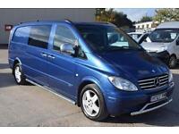 Mercedes-Benz Vito 120 XLWB Crew Van Automatic 3.0 Combi Van