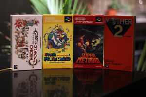 Super Metroid for Super Famicom (Works in English on NA SNES)