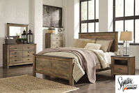 Brand NEW Complete Queen Bed! Call 506-854-6686!