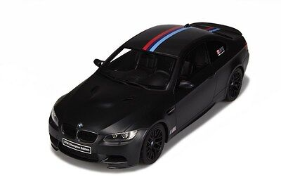 GT Spirit BMW M3 E92 DTM CHAMPION EDITION FROZEN BLACK LE of 1500 1:18*In Stock!