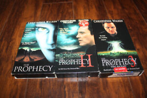 Lot of 3 VHS Movie The Prophecy 1, 2 and 3 Christopher Walken