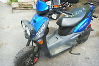 yamaha scooter bws 2013 8000km  en marche besoin inspection vga