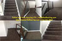 Expert Carpet Professionals. Sales, Install, Removal & Repairs