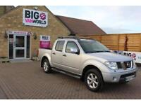 2007 NISSAN NAVARA AVENTURA DCI 4X4 SWB SHR DOUBLE CAB WITH ROLL'N'LOCK TOP PICK