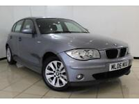 2006 06 BMW 1 SERIES 2.0 118I SE 5DR AUTOMATIC 128 BHP