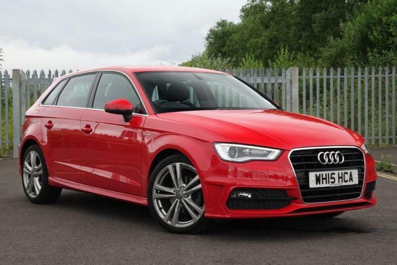 audi a3 1 6 tdi s line 5dr auto diesel automatic 2015 15 in exeter devon gumtree. Black Bedroom Furniture Sets. Home Design Ideas