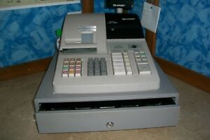 Sharp Electronic Cash Register (Model ER-A320)