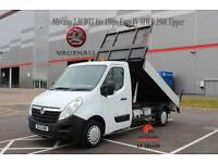 2012 VAUXHALL MOVANO 2.3CDTI 16v 150ps EURO IV MWB 3500 TIPPER