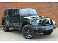 Jeep Wrangler 2.8 CRD Black Edition II Auto 4WD 4dr SUV Diesel Automatic